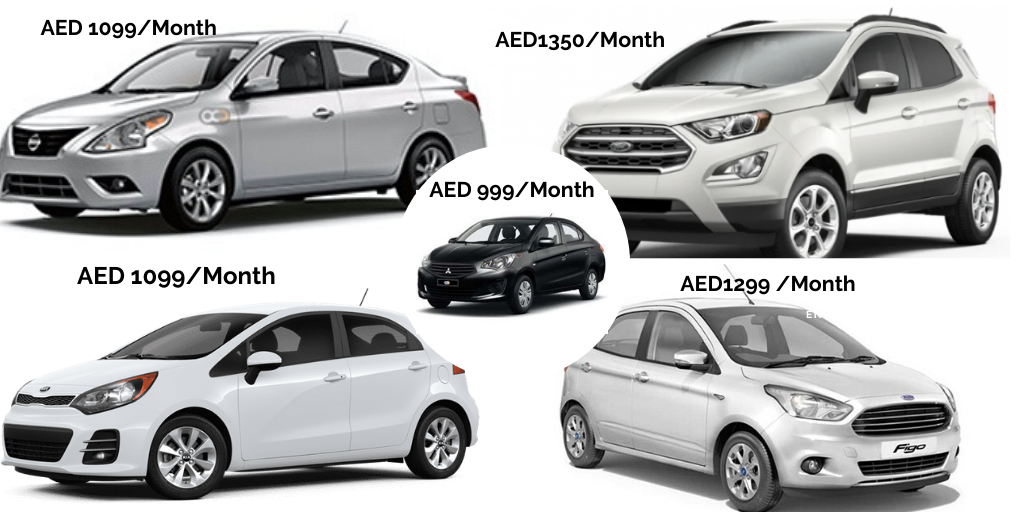 How to get discount offers on monthly car rental in UAE?
