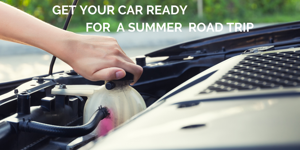9 Tips to get your car ready for a summer road trip.