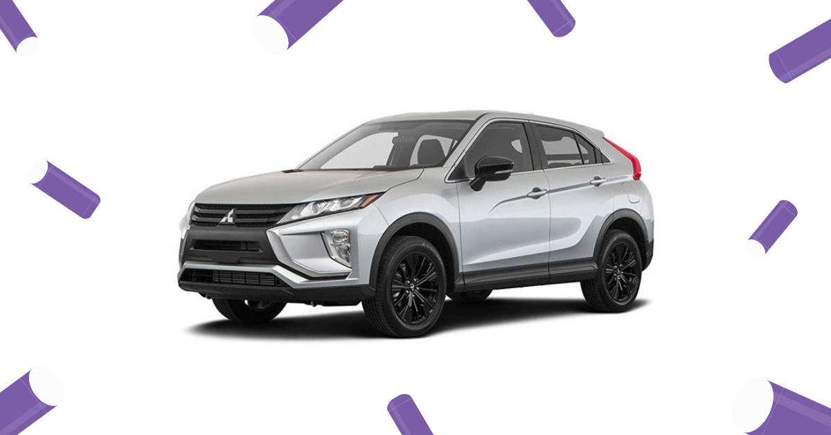 Mitsubishi Eclipse Cross: Compact Performance SUV,rent a car in dubai ,rent a car eZhire.ae
