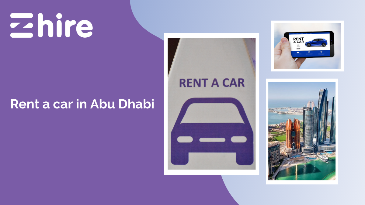 Rent a car in Abu Dhabi with no security deposit