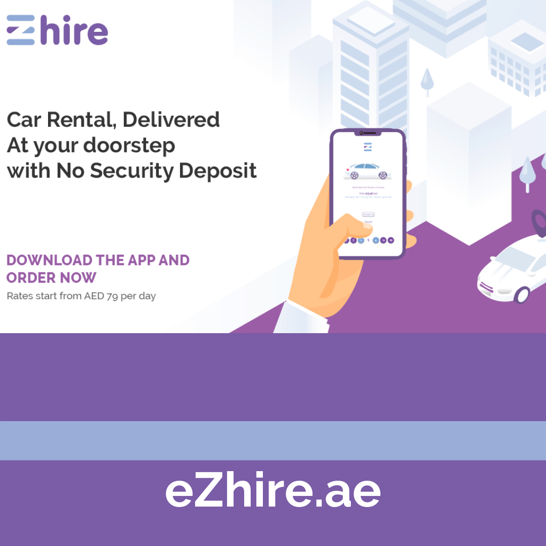 The Importance of Renting a Car on Business Trip,Hire a car through eZhire mobile app anytime anywhere in UAE.