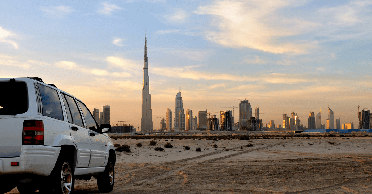 Fines You Need to Know When Renting a Car in the UAE,rent a car in Dubai through eZhire app.