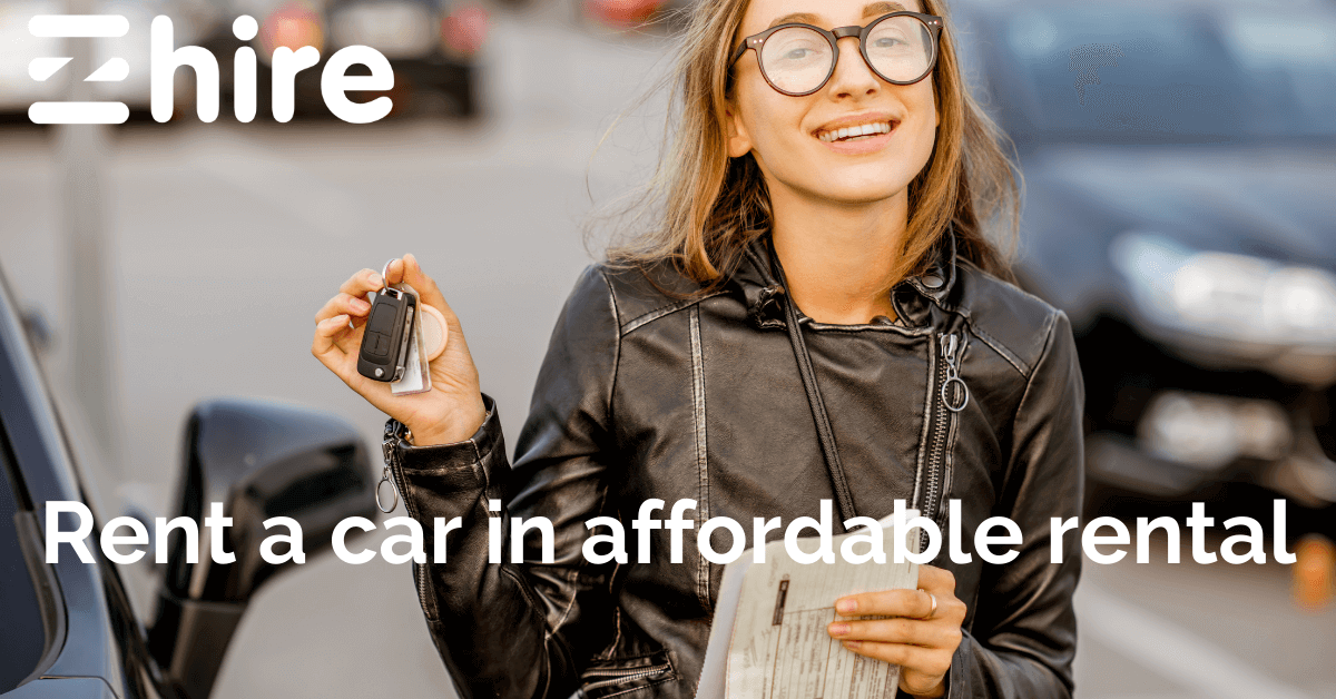 Top qualities of a best car rental company,rent a car in Dubai through eZhire app in affordable rental with no deposit.