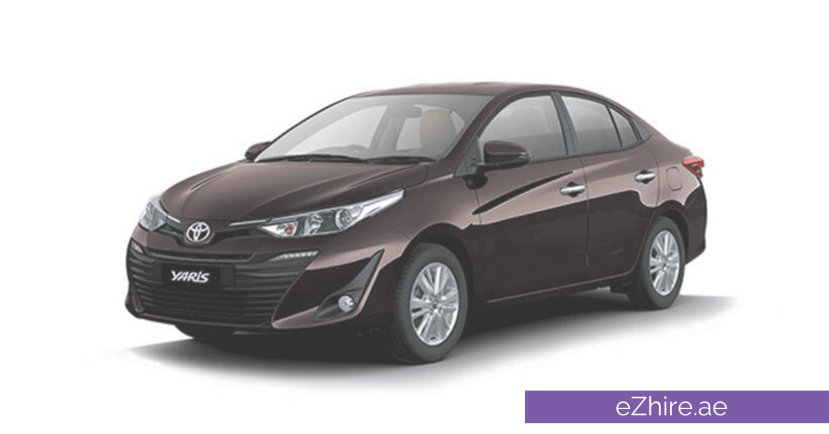 Toyota Yaris,reviewed by eZhire rent a car in karachi