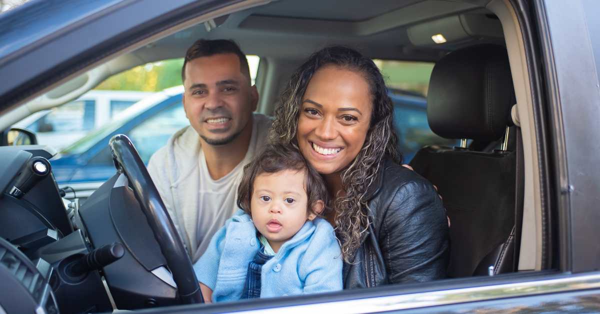 Renting a car with kids